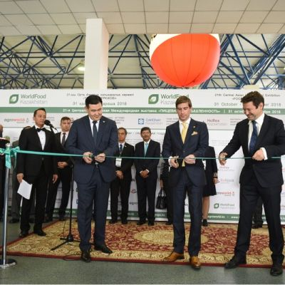 Today, on October 31st 2018, the city of Almaty witnessed opening of the five largest international exhibitions